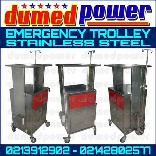Brosur Emergency Trolley Stainless Steel