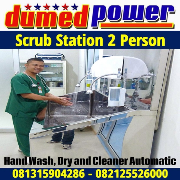 Jual Scrub Station 2 Person Murah