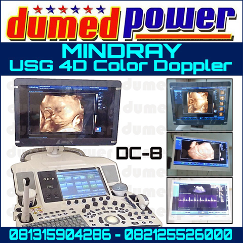 Jual USG 4D Mindray DC-8 Color Doppler Transvaginal Convex Linier Probe