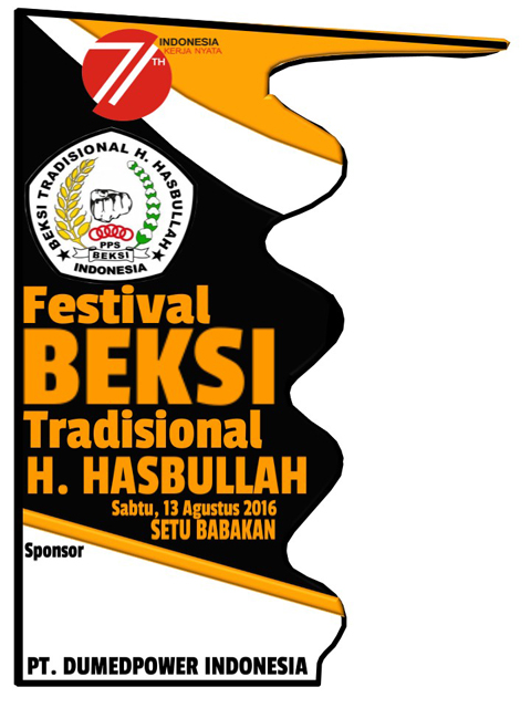 Umbul-umbul BEKSI Tradisional H Hasbullah