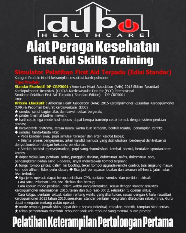 Phantom Integrated First Aid Training Simulator Standard Edition - CRP5001 Hal-02
