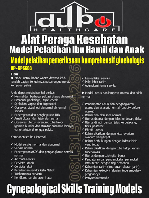 Phantom Model Pelatihan Ibu Hamil dan Anak DP-GP6608 DuPo Healthcare